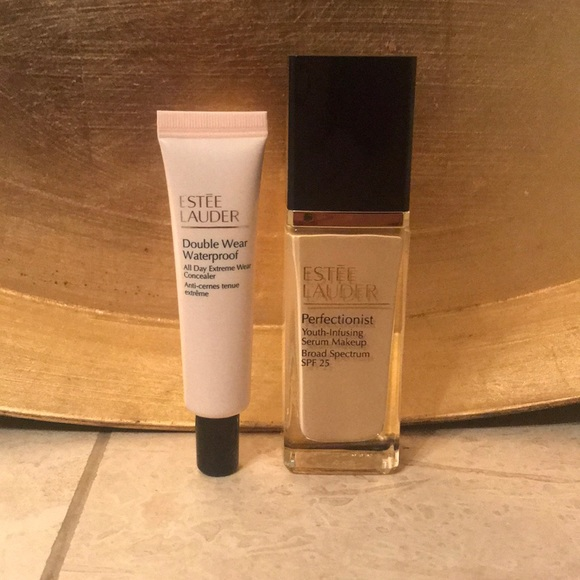 Estee Lauder Makeup Foundation Concealer Set Poshmark